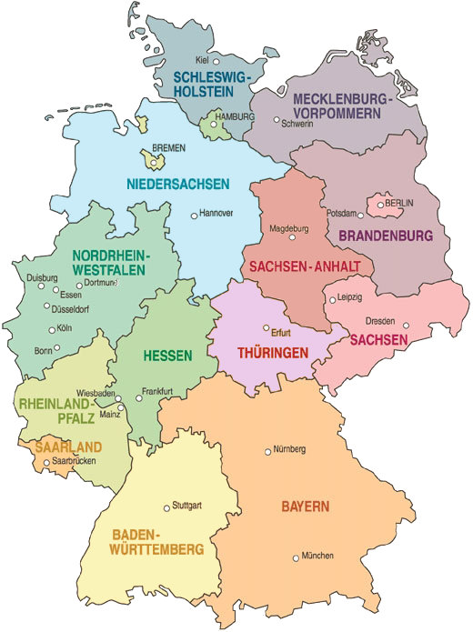 Geografia Bundesrepublik Deutschland
